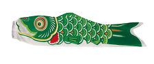 Koi Fish Windsock, 36-Inch, Green