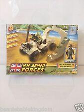 H.M. Armed Forces Quad Bike and Infantryman mini set