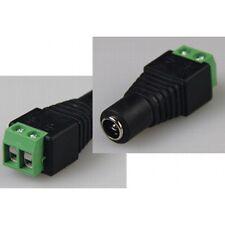 Adaptador de conexión para LED-Stripes clema a 5,5/2,1mm embrague