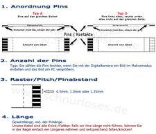 Flachkabel / Flexkabel / FFC ZIF Flat Flex Jumper Cable - verschiedene Größen