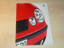 28709) VW Polo 9N Prospekt 2001
