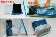 Set of 6 Roll Up Travel Storage Bag Space Saver, 3Larget+3Medium Roll Up bags