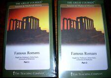 Teaching Co Famous Romans University Course on CDs Hannibal Scipio Caesar Pompey