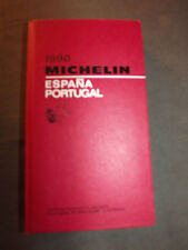 collection Guide rouge MICHELIN ESPAGNE PORTUGAL 1990