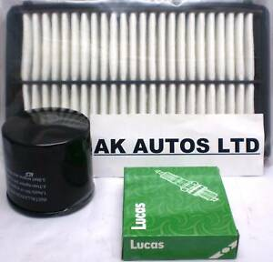 FOR HONDA ACCORD 2.2 TYPE R 1999-2003 3PC SERVICE KIT OIL AIR & SPARK PLUGS