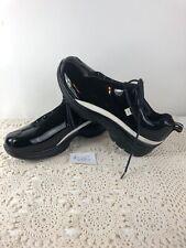 MARC ECKO Mens Black Patent Leather Lace Up Shoes 9 1/2 M Excellent