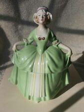 Lovely Antique E & R Madame Pompadour Porcelain Lady Dresser Doll Germany
