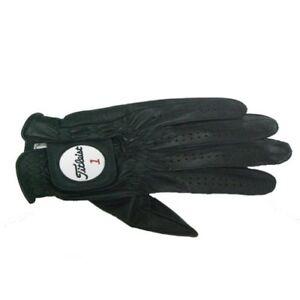 New TITLEIST Professional glove left hand 22cm TG77-BK Black 22cm