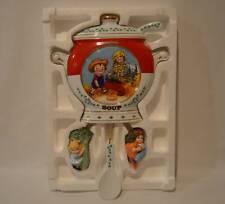 Danbury Mint The Campbell Kids Tomato Soup Porcelain Wall Clock 1997