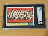 1961 Topps #7 Chicago White Sox SGC 5 Newly Graded