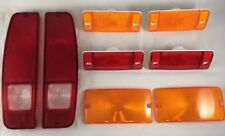 NEW 1970-1977 EARLY FORD BRONCO MARKER, PARKING, AND TAILLIGHT LENS SET.