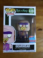 Funko Pop! Vinyl TV Animation Rick and Morty Gearhead NYCC 2018 #438 Exclusive
