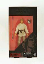Hasbro Star Wars: Una nueva esperanza SERIE NEGRA 15.2cm Skywalker Luke