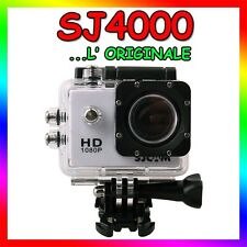 SJ4000 ORIGINALE SJCAM ACTION SPORT CAMERA SUBACQUEA 12MP 1080P VIDEOCAMERA