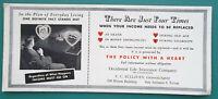 OCCIDENTAL LIFE INSURANCE CO Agent F. Sullivan California - 1950 INK BLOTTER