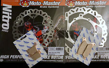 KIT FRENOS DE DISCO MOTO MAESTRO PARA KTM SX/EXC con PASTILLAS diafrikt