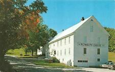 VT,  Vermont  THE COOLIDGE CHEESE FACTORY-Plymouth Cheese Corp   1960's Postcard