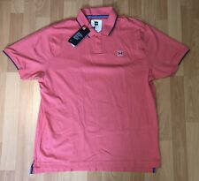 Under Armour Ace Polo 1341967 Coral Mens Size Large Golf Shirt NWT