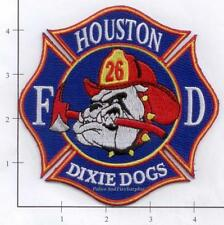 Texas - Houston Station 26 TX Fire Dept Patch v1