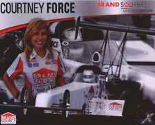 2008 Courtney Force Brand Source Top Alcohol Dragster NHRA postcard