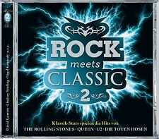 DAVID GARRETT/STIRLING,LINDSEY/KENNEDY,NIGEL/+ - ROCK MEETS CLASSIC 2 2 CD NEU