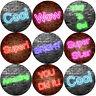 144 Neon Praise Words Reward Stickers 30mm in Size for Teacher, Parent,