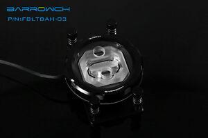 Barrowch AMD Round CPU Water Block Black - 396