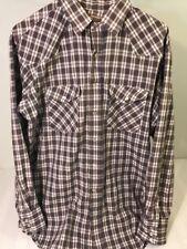 Vintage Big Mac Mens Size LT Plaid Work Shirt Big & Tall Long Sleeve Button Down