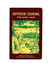 Outdoor Cooking The Easy Way Cookbook~J Bates~Grilles-Stoves-Wood -Tools-Recipes