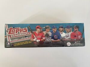 2017 Topps MLB Baseball Factory Sealed Complete Sets