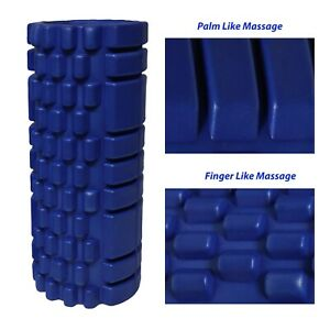 Massage Foam Roller W/ Extra Yoga Roller Muscle Myofascial Trigger Point Release
