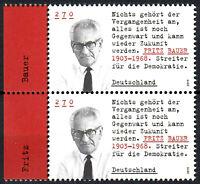 3502 postfrisch Paar senkrecht Rand links BRD Bund Deutschland Briefmarke 2019