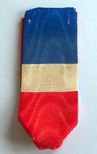 FRANCE: Ruban tricolore pour la médaille du travail, 20 années de service.