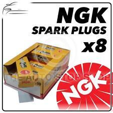 8x Ngk Spark Plugs parte número Cr9e Stock No. 6263 Nuevo Genuino Ngk sparkplugs