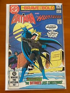 The Brave & the Bold Starring Batman and The Huntress 184 - Comic Book B42-122