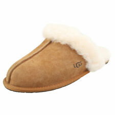 UGG Scuffette 2 Womens Chestnut Suede Slippers Shoes