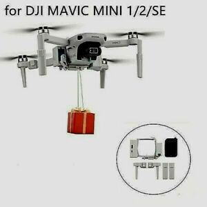 for DJI Mavic mini 2 1 SE Airdrop System Thrower Fishing Bait Delivery Parabolic