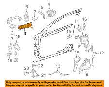 Mercedes MERCEDES-BENZ OEM E350 Lock -Rear Door-Handle Base Right 2047602434