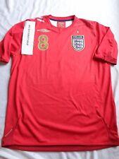 Official Umbro #8 England Soccer Football Jersey Shirt 2006-2008 size L Adult