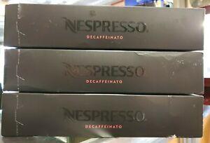 Nespresso Vertuoline Decaffeinato Decaf Capsule Pods 3 Sleeves 30 Pods