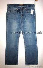 SEVEN 7 NWT $69 JEANS Mens 36 x 34 Medium Faded Denim Straight Leg NEW