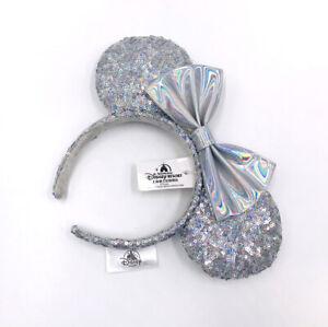 Mouse Magic Mirror 2020 Minnie Ears Cinderella Silver Disney Parks Headband