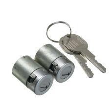 2 PCS For Chevrolet GMC Truck Cadillac Lockcraft Door Lock Cylinder 2 Keys Kit