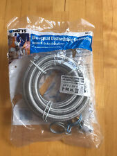 """New listing Watts Universal Dishwasher Connector Kit 96"""" Braided Connector 3/8 Compression"""