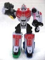 super ROBOT Power rangers SDP plastica cm. 13,2 gr. 95 Bandai 3 articolazioni