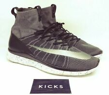 a5b971e3204 NIKE FREE MERCURIAL SUPERFLY FLYKNIT RUNNING SHOES Sz 11.5 DARK GRAY  805554-004