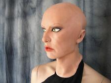 Latexmaske SCARLETT B +AUGEN Real. Frauenmaske Gummimaske Frau Zofe Trans TGirl