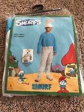 The Smurfs Smurf Costume Size: Small 4-6