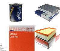 MAHLE / KNECHT Inspektionspaket Filter Set SCT Motor Flush Motorspülung 11606107