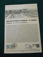 Collection Historique Timbre Poste 1er Jour : 8/05/93 - cours constitutionnelles